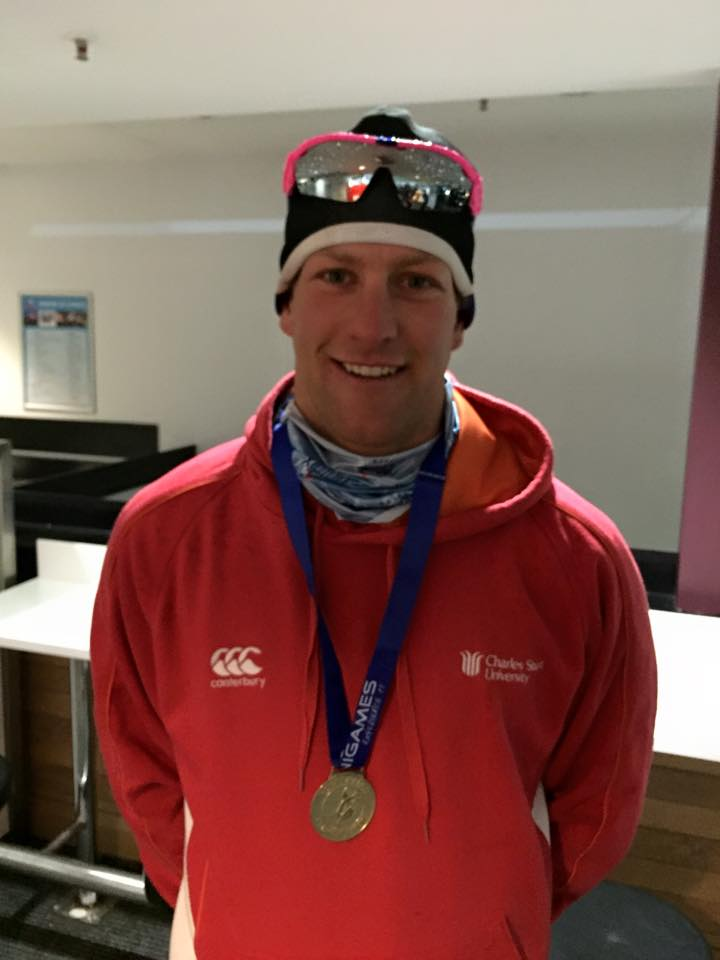 Phil Bellingham has claimed Gold in the Australian University Sport Men's Cross Country Skiing event for the second consecutive year. An awesome effort at the end of a long season!