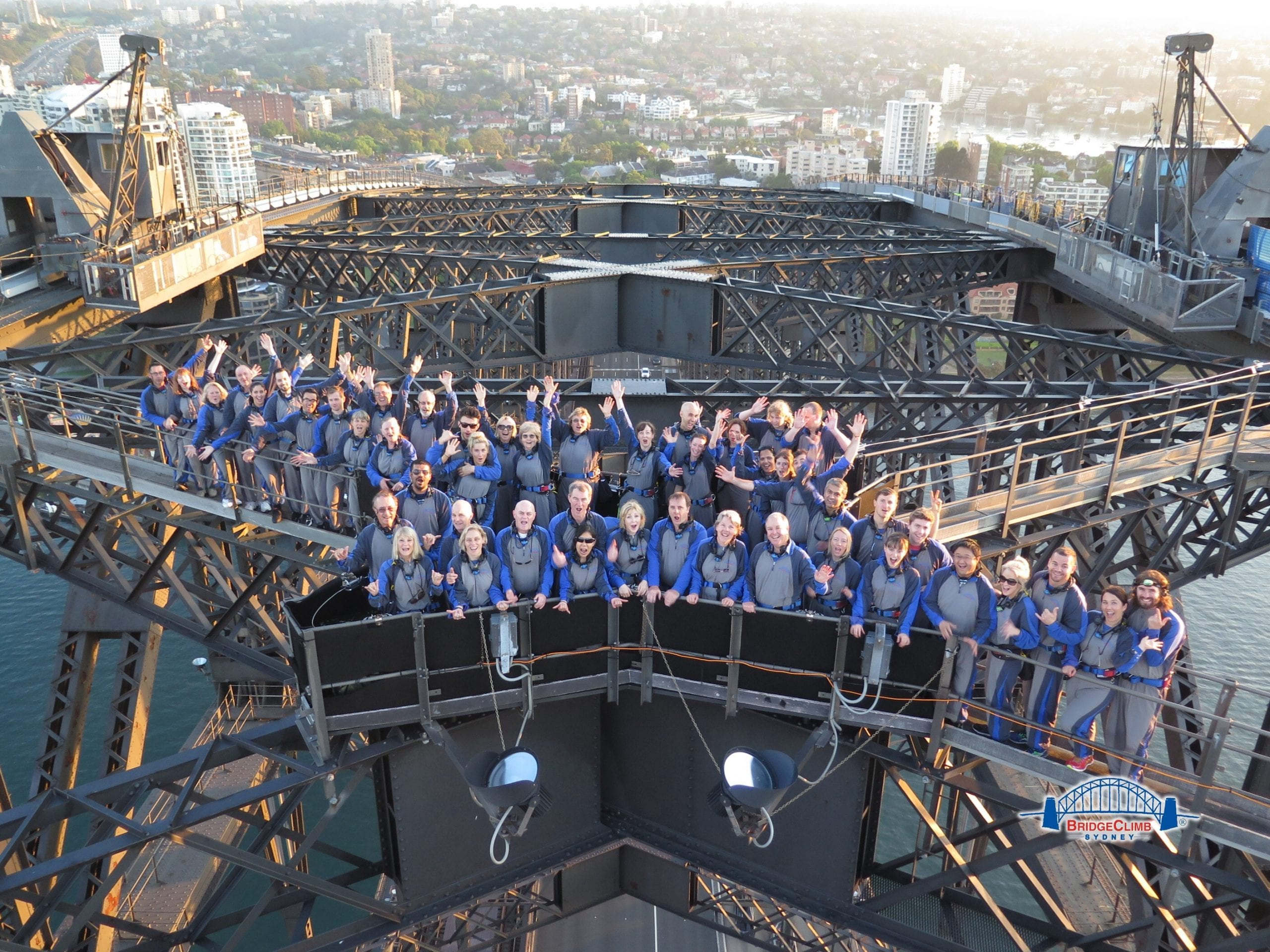 CSU Alumni Sydney Harbour Bridge Climb event