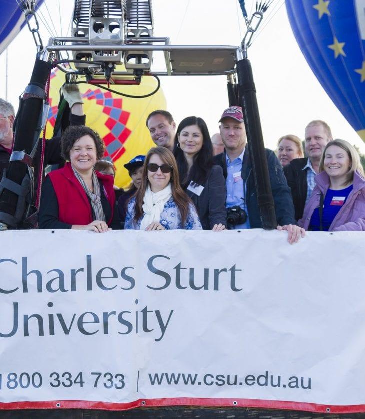 CSU Alumni ballooning event