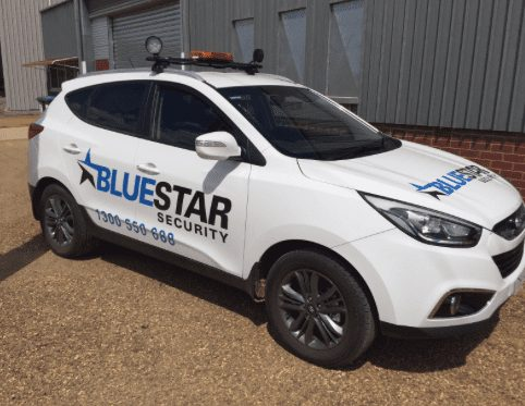 Blue Star security car