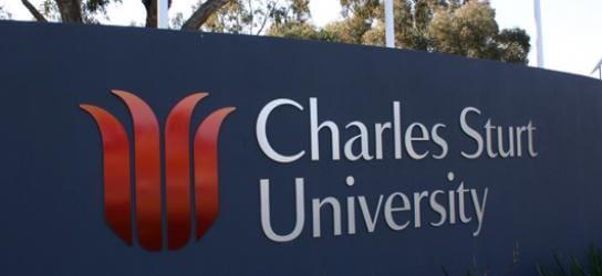Charles Sturt University front entrance
