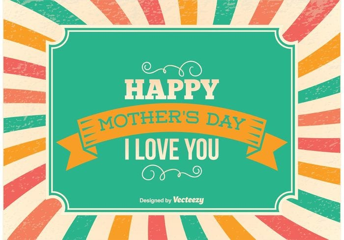 Happy Mother's Day I love you banner
