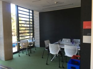Group study room at Port Macquarie Campus