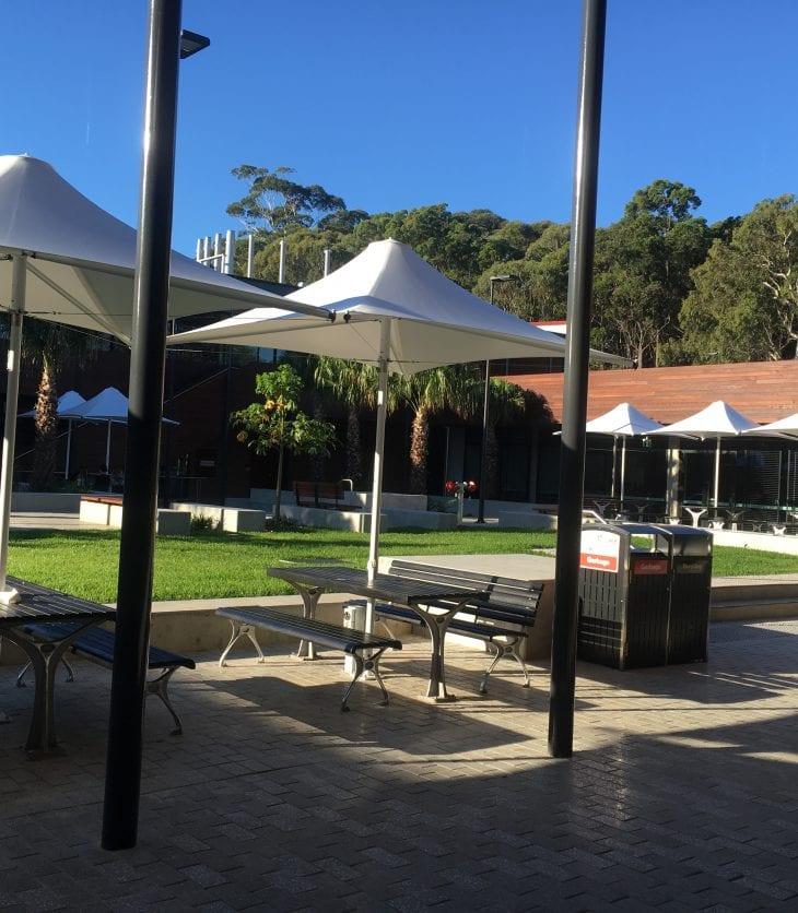 Port Macquarie Campus courtyard