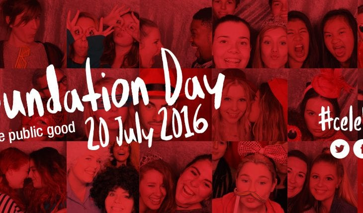 Foundation Day 20 July 2016. For the public good. #celebratecsu
