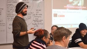Toby works with first-in-family Indigenous CSU students to share their experiences through film