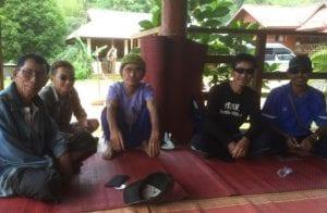 CSU nursing students in Thailand July 2016