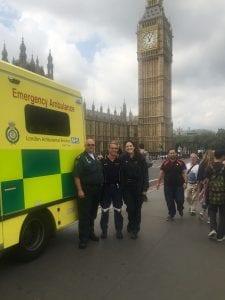 CSU paramedic students enjoy the sights of London