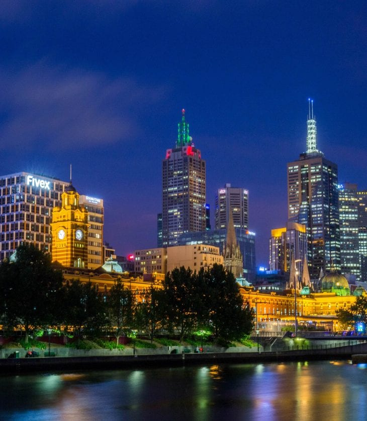 City views of Melbourne, Australia