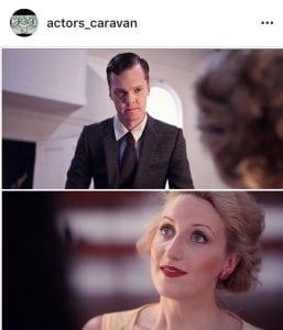 Screen sample of @actors_caravan
