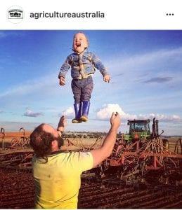 Screen sample of @agricultureaustralia