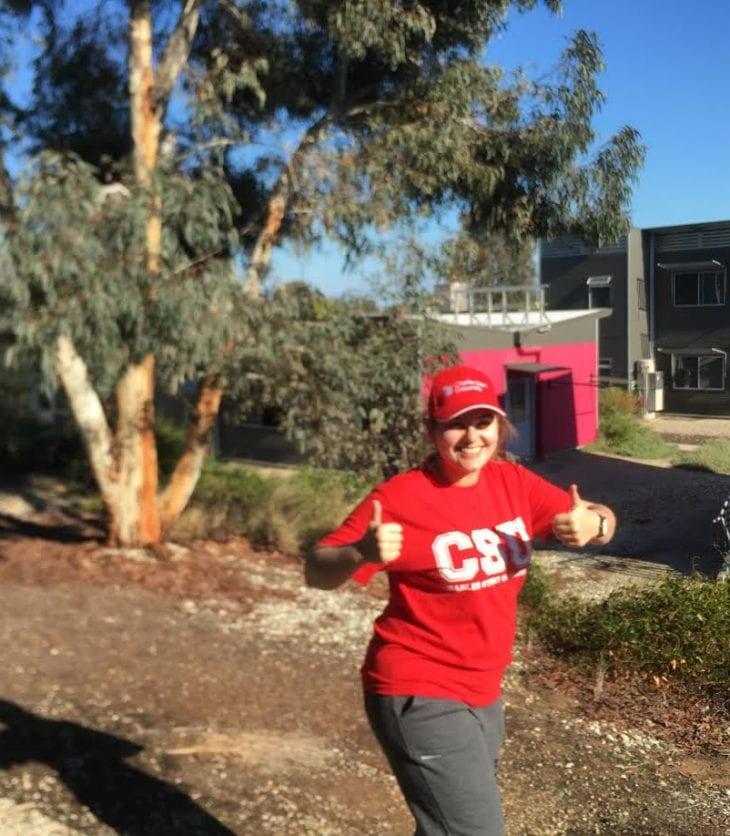 #BetterInRed runner & CSU student Sarah Dotta