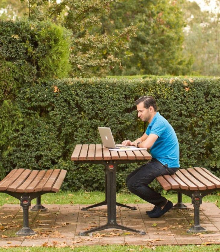 CSU online student.