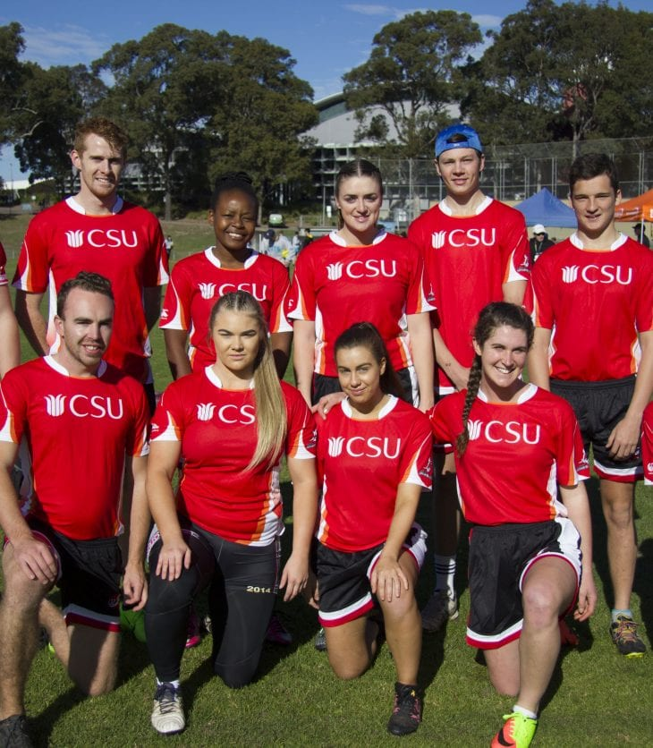 The CSU Mixed Oztage Team at EUG.