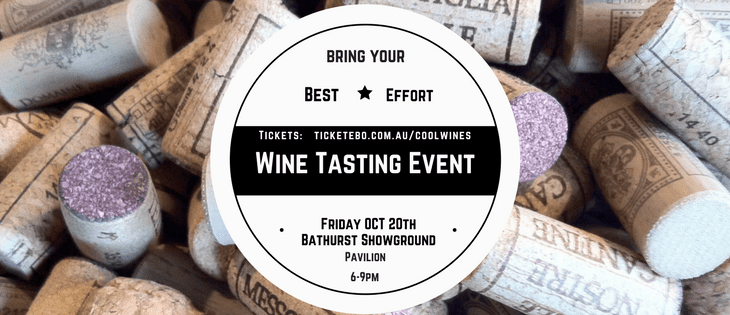 Bring your best effort. Wine Tasting Event