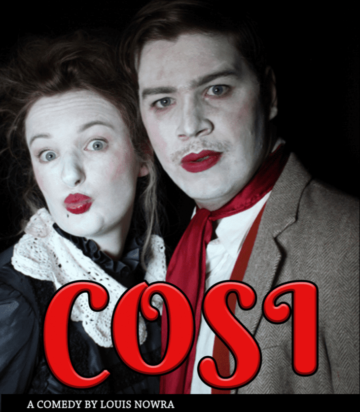 The School of Communication and Creative Industries and Cycle Productions present COSI. 22-26 May, Ponton Theatre, 7pm