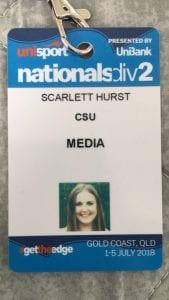 Scarlett's Media Pass